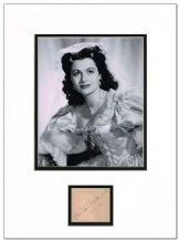 Margaret Lockwood Autograph Signed